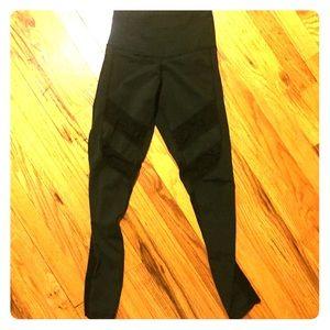DYI lace mesh leggings